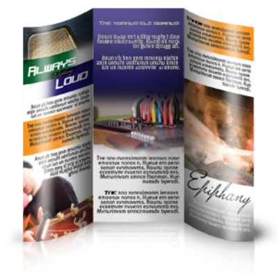 Brochures, Newsletters
