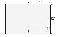 stitched inserts for presentation / pocket folders | presentation, Presentation templates
