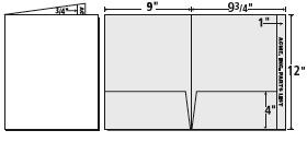 economy 1 folders presentation folder inc