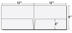 Vertical pocket 4 color folders presentation folder inc 9x12 presentation folder template saigontimesfo