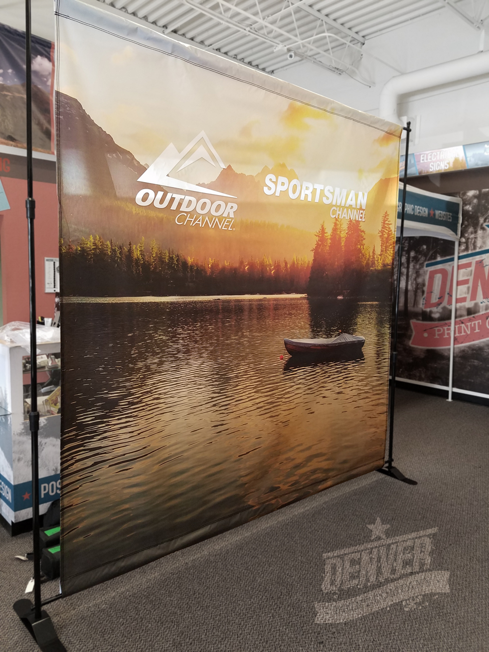 outdoor channel step and repeat