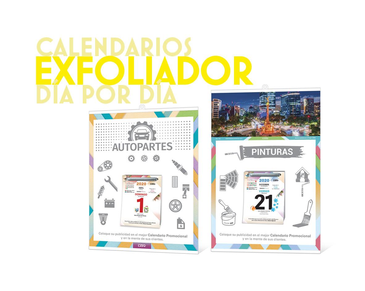 Calendarios Exfoliador Día por Día